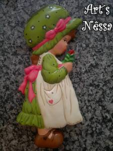Boneca camponesa verde (2014)