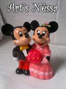 Casal Mickey e Minnie a rigor 1