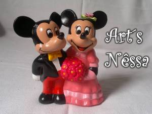 Casal Mickey e Minnie a rigor 2