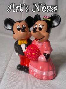 Casal Mickey e Minnie a rigor 3